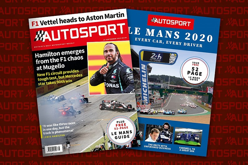 Magazine: F1's chaotic Tuscan GP and Le Mans 24 Hours – Autosport Magazine