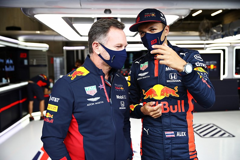 """Horner: """"Too nice"""" Albon will take confidence boost from Tuscan GP podium – F1"""