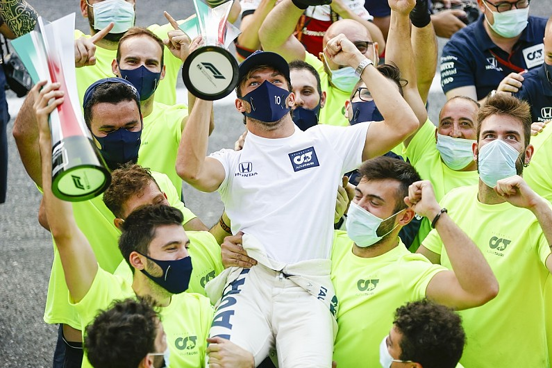 """Gasly: AlphaTauri F1 team """"more motivated than ever"""" after Monza win – F1"""