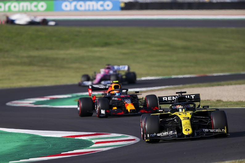 Ricciardo: Renault's gains clear at high downforce F1 tracks – F1