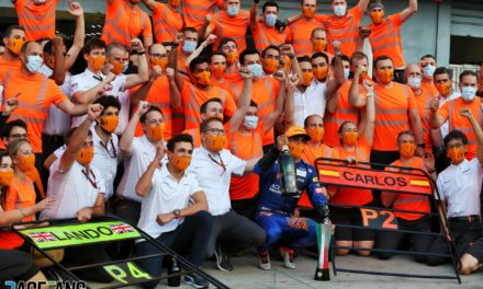 "The ""sporting humility"" Sainz and Norris share with three champions · RaceFans"