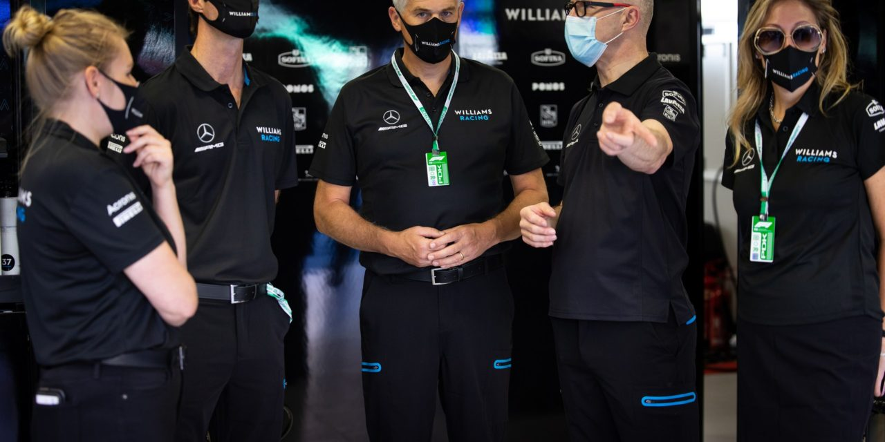 New Williams owners make first appearance at race · RaceFans