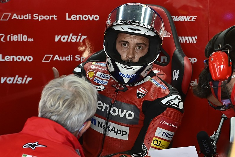 "Dovizioso: Ducati team-mate Petrucci ""wasn't smart"" in Aragon MotoGP Q1 – MotoGP"