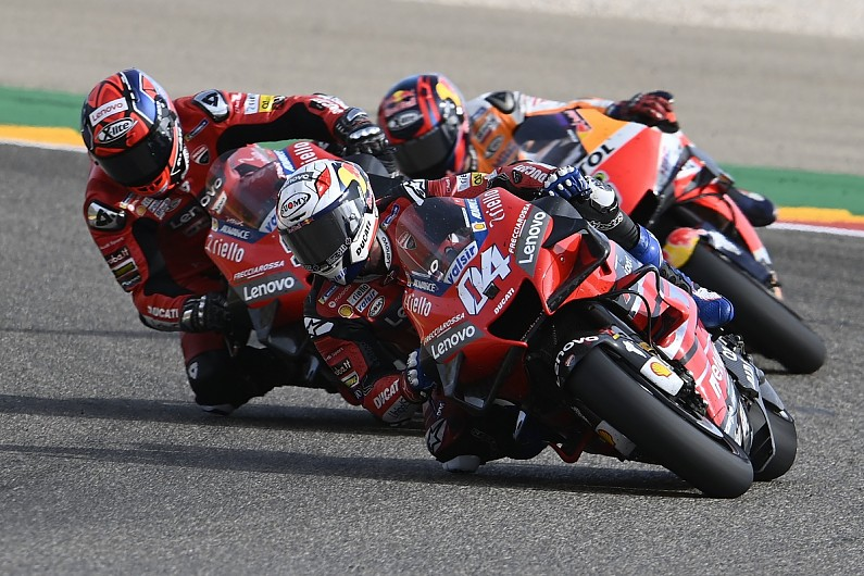 "Dovizioso ""completely finished"" rear tyre in Teruel MotoGP – MotoGP"