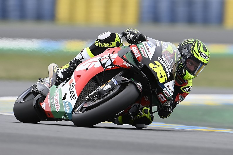 """Crutchlow: Qualifying mistake """"lost me the front row"""" for French GP – MotoGP"""