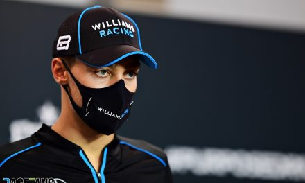 Russell's F1 coach self-isolating with possible Covid-19 symptoms · RaceFans