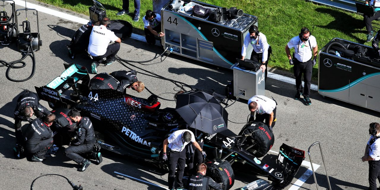 """Leclerc and Hamilton's practice starts show """"variability"""" in stewards' decisions"""