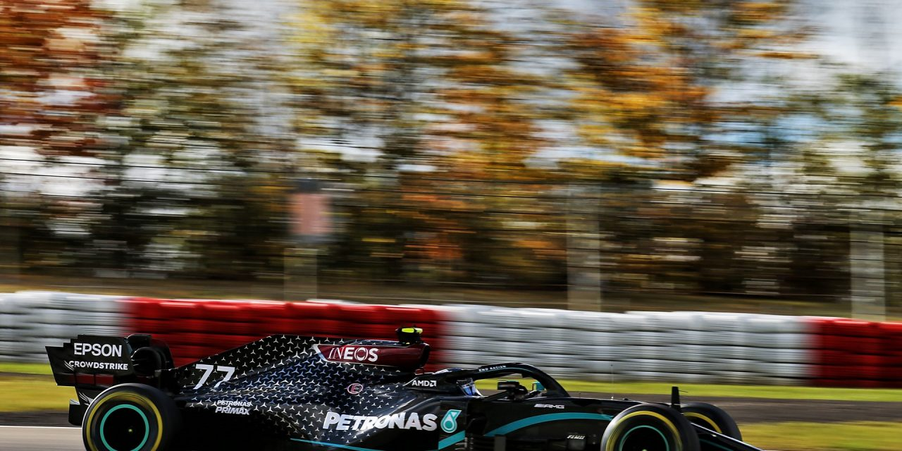 Bottas sees off Hamilton and Verstappen for Nurburgring pole · RaceFans