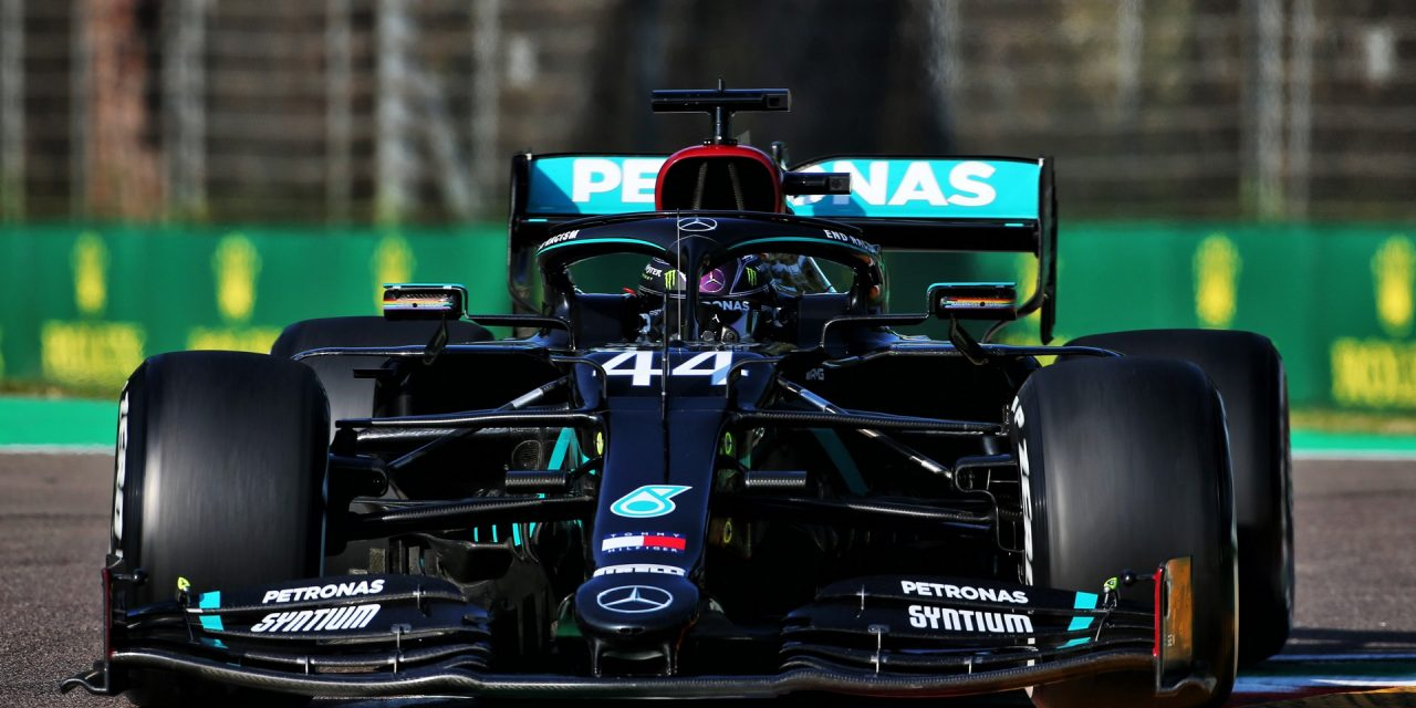 Hamilton leads Verstappen in sole practice session at Imola · RaceFans