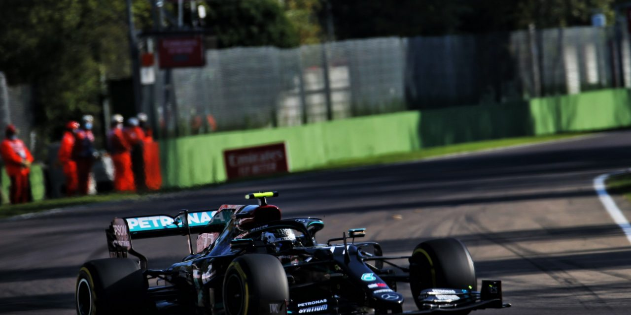 """Bottas """"had the shakes"""" after pole-winning lap at Imola · RaceFans"""