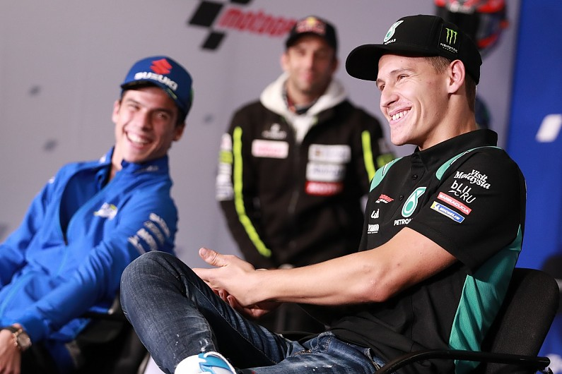 "Quartararo: MotoGP title battle with ex-Moto3 team-mate Mir a ""cool story"" – MotoGP"