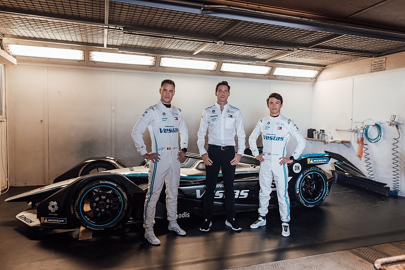 Mercedes Formula E team drops black livery for 2020-21 – Formula E