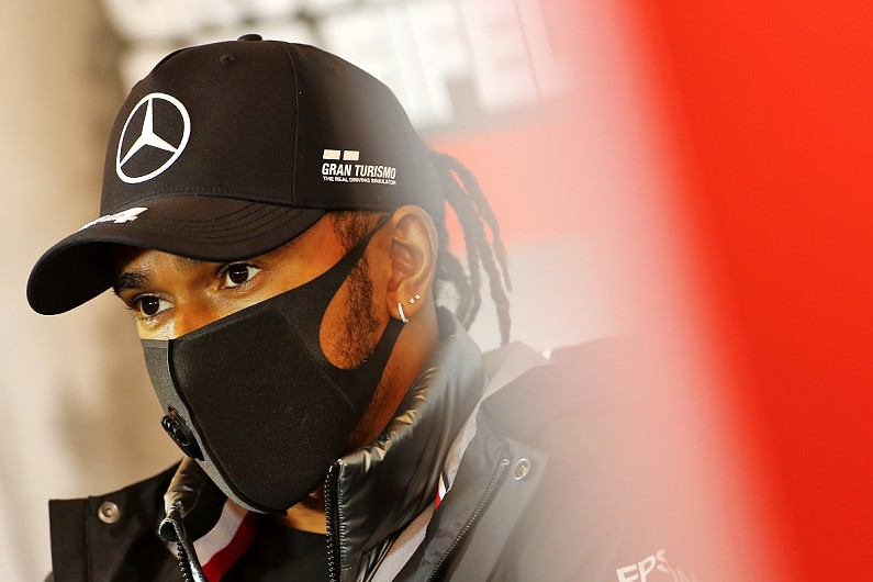 "Hamilton: Work needed to avoid ""disturbances"" after Mercedes F1 member has COVID-19 – F1"
