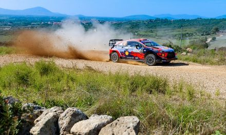 WRC Rally Italy: Hyundai's Sordo holds Sardinia lead on opening day – WRC