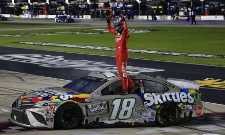 Busch takes first 2020 NASCAR Cup win in heavily-delayed Texas race – NASCAR