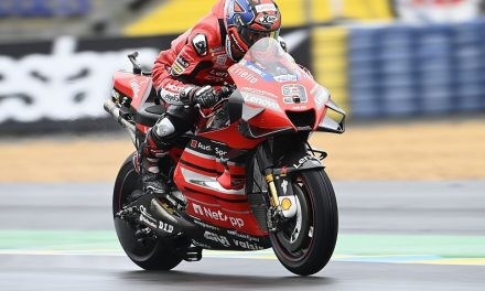 French MotoGP: Petrucci wins dramatic wet race ahead of Marquez, title rivals struggle – MotoGP