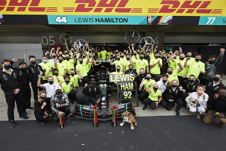 Mercedes 'not allowing entitlement' ahead of seventh F1 constructors' title win – F1