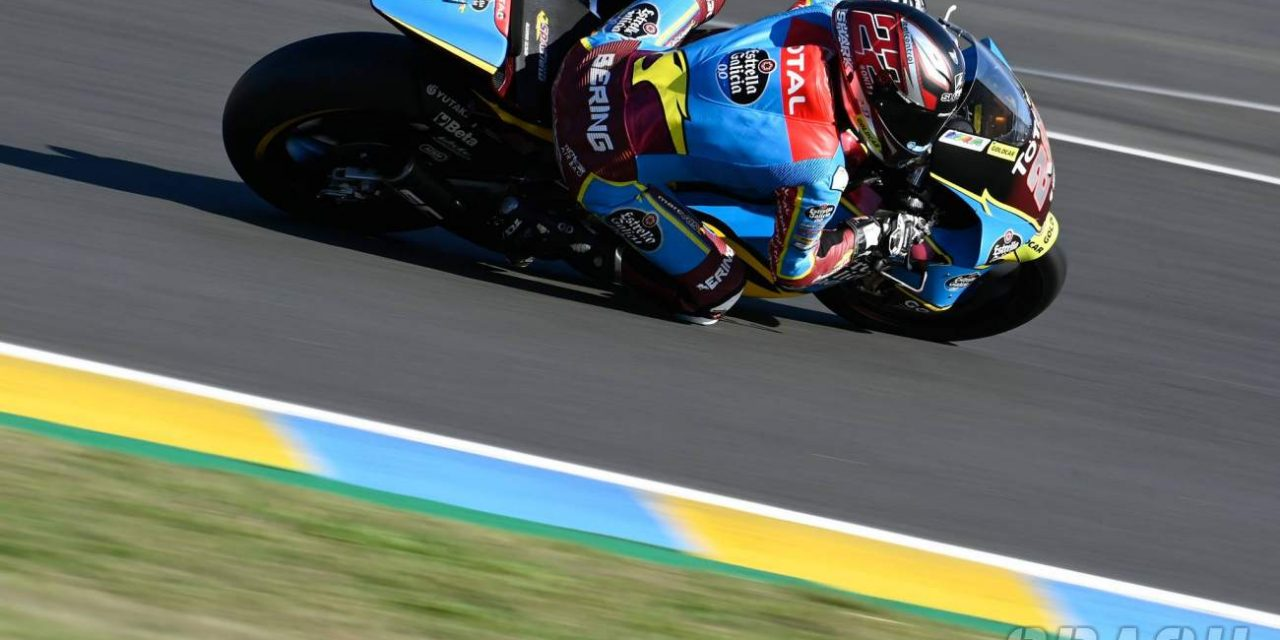 French Moto2 Grand Prix, Le Mans – Warm-up Results