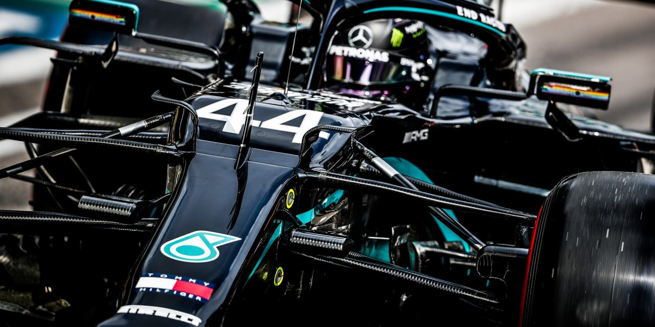 F1 drivers given new instructions for practice starts after Hamilton penalty · RaceFans
