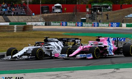 """Racing Point will complain over second """"harsh"""" reprimand for Perez · RaceFans"""