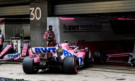 Racing Point expect better performance from Stroll at Imola after troubled return · RaceFans