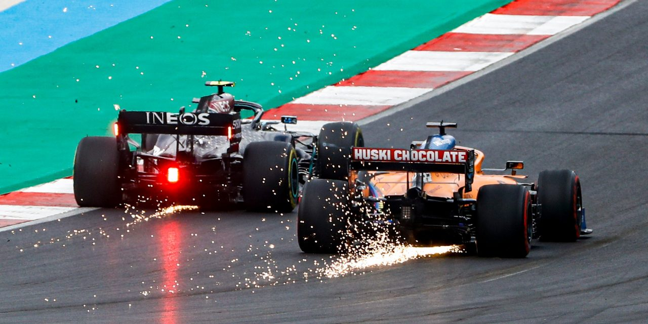 """Brief spell in lead gave McLaren """"nice pictures and motivation"""""""