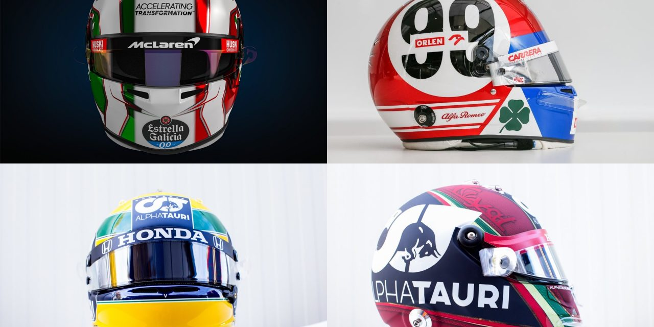 Gasly's Senna replica and Italy tributes · RaceFans