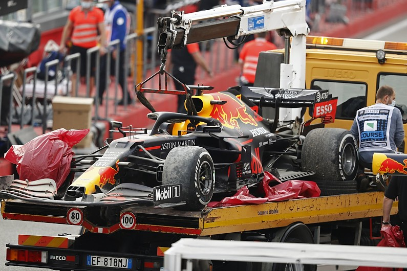 "Horner: Verstappen's Imola F1 tyre failure ""totally instantaneous"" – F1"