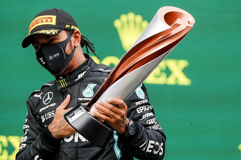 "Hamilton: ""Lot of work to do"" to help F1's anti-racism and sustainability campaigns – F1"
