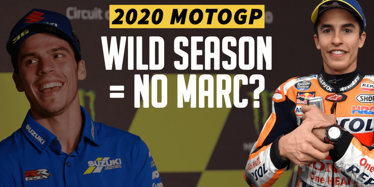 Is Marc Marquez's absence the reason for MotoGP's wild year? | MotoGP