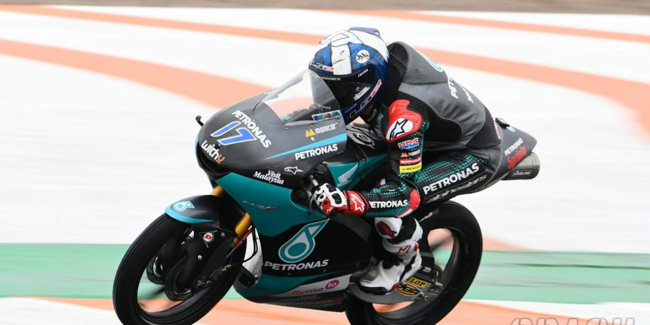 Moto3 Europe: McPhee masters the wet for pole position | MotoGP