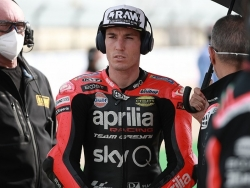 Espargaro has doubts over Lorenzo as Aprilia MotoGP test rider