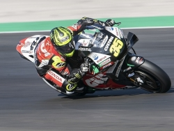Crutchlow 'put it on the line' for final MotoGP qualifying in Portugal