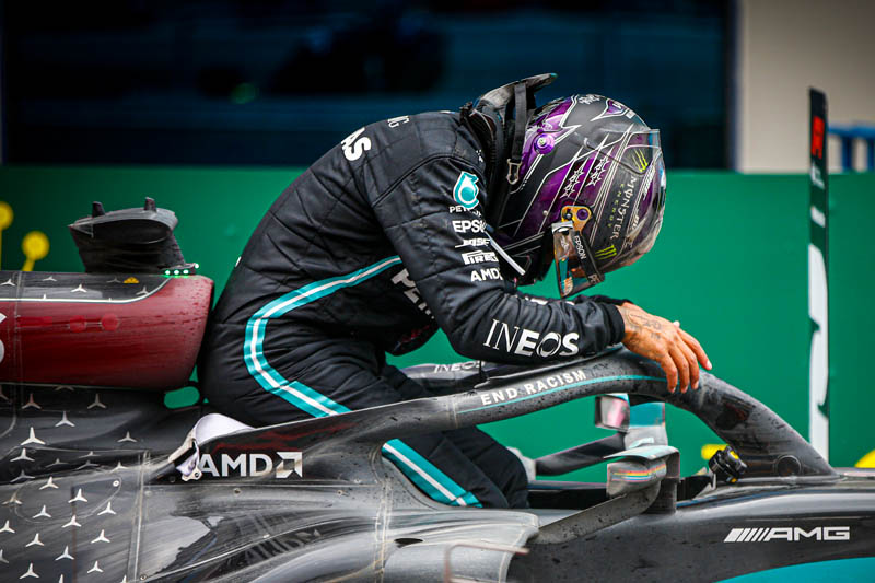I'm only just getting started, insists Hamilton