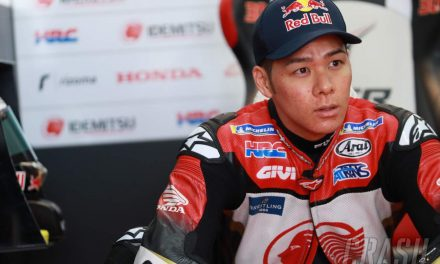 Nakagami resets course for maiden win from 3rd consecutive front row start | MotoGP