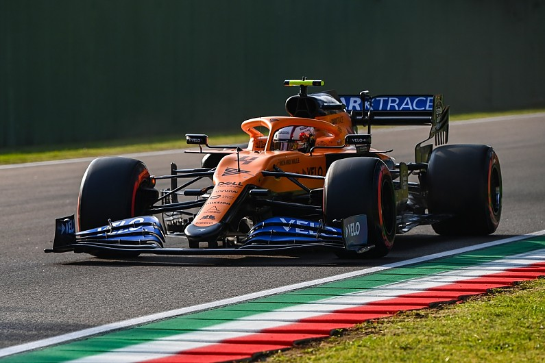 "Norris: Turn 1 ""best opportunity"" for progress in Emilia Romagna GP – F1"