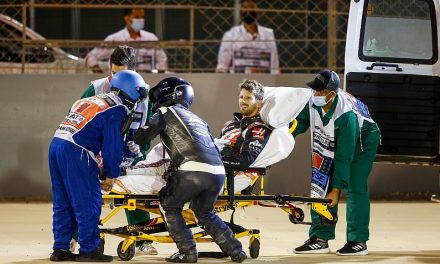 "Haas: Grosjean ""lucky by being unlucky"" in horror Bahrain crash – F1"