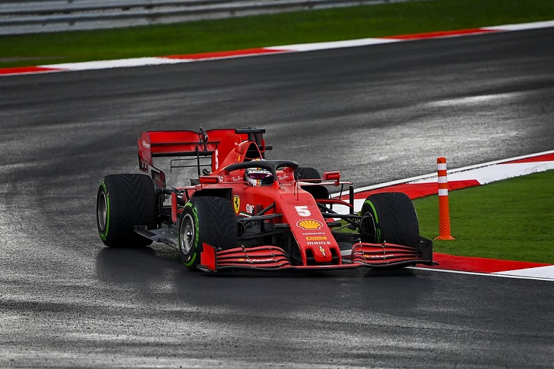 Vettel: Switch to slicks could have given Ferrari chance to win – F1