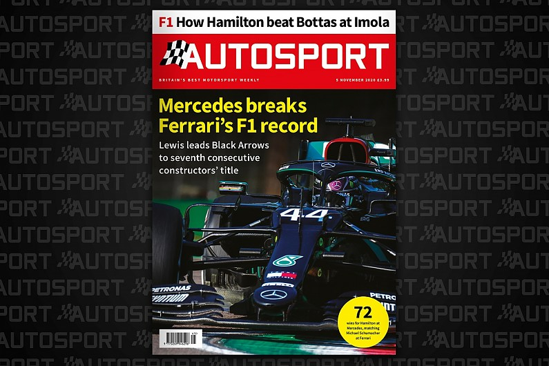 Magazine: Imola F1, Mercedes' seventh title and Walter Hayes Trophy – Autosport Magazine