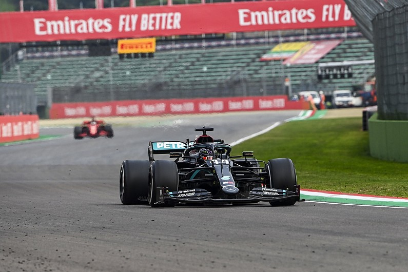 Pirelli investigating Hamilton's F1 Imola rear tyre vibration issue – F1