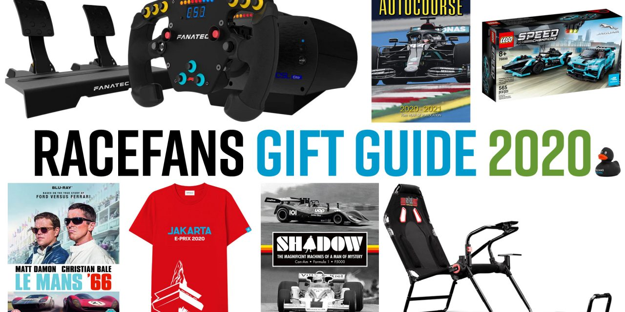 The best books, games, simracing gear and more · RaceFans