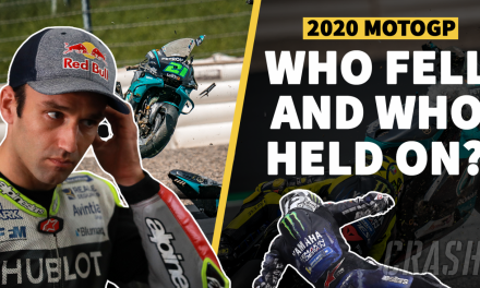 MotoGP crash stats 2020: Who fell and who held on? | MotoGP