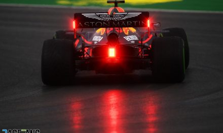 Verstappen makes it three out of three in treacherous, rain-hit session · RaceFans