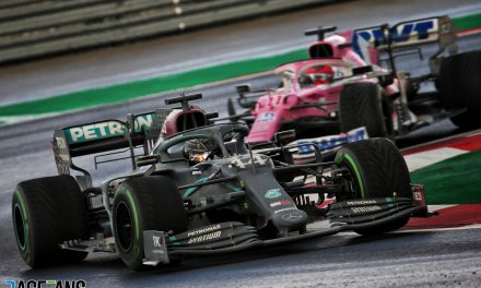 Hamilton produces wet weather masterclass to clinch seventh title · RaceFans