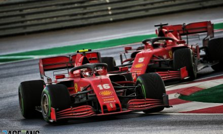 "Sainz ""very encouraged"" by Ferrari's improved performance in recent races · RaceFans"