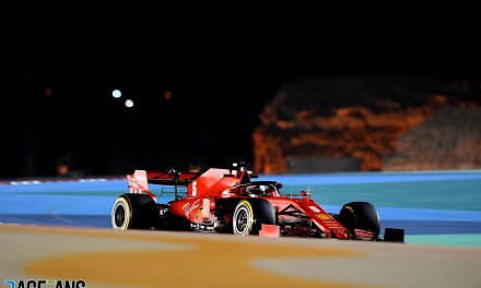 "Vettel admits attempt to get a slipstream from Russell ""didn't work"" · RaceFans"