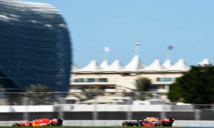 Verstappen sets early pace in Abu Dhabi