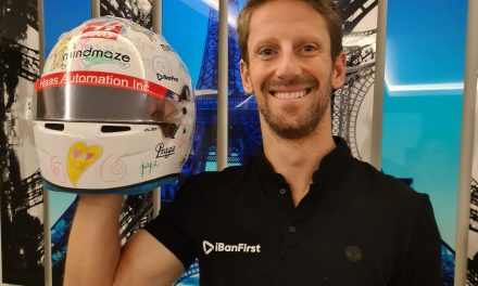 Grosjean unable to wear his children's helmet design as he misses final race · RaceFans