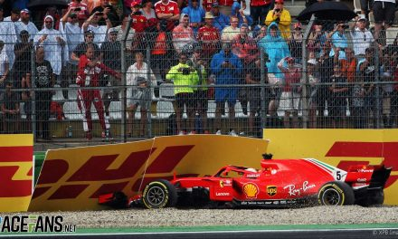 Hockenheim 2018 error wasn't only turning point in relationship with Ferrari · RaceFans