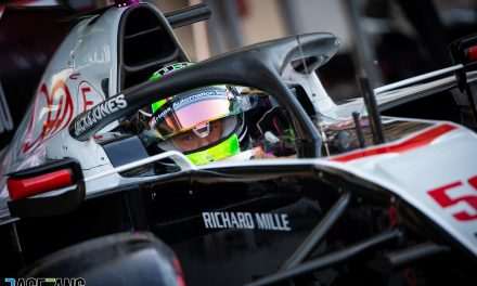 "First practice outing for Haas was ""a hell of a ride"""